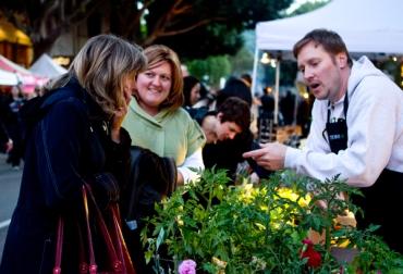 San Luis Obispo, SLO, Farmers' market, plant vendor