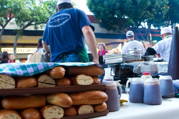 SLO, San Luis Obispo, farmers' market, thursday, BBQ